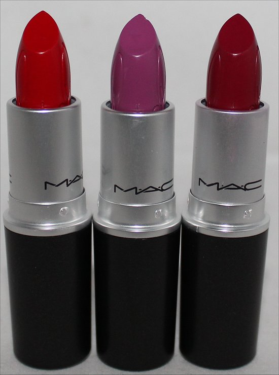 MAC RiRi Woo, RiRi Boy & Heaux Lipsticks Haul