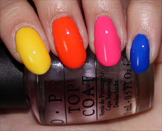 Neon Revolution OPI Swatch & Review
