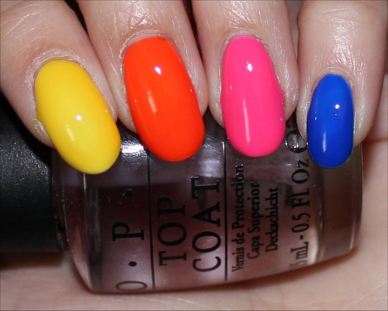 Neon Revolution by OPI Swatches & Review