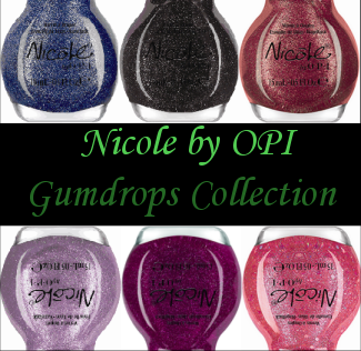 Nicole by OPI Gumdrops Collection
