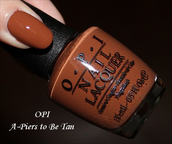 OPI A-Piers to Be Tan Review San Francisco