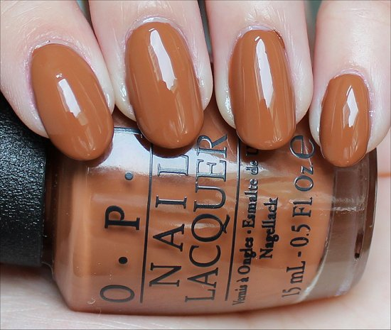 OPI A-Piers to Be Tan Review & Swatch