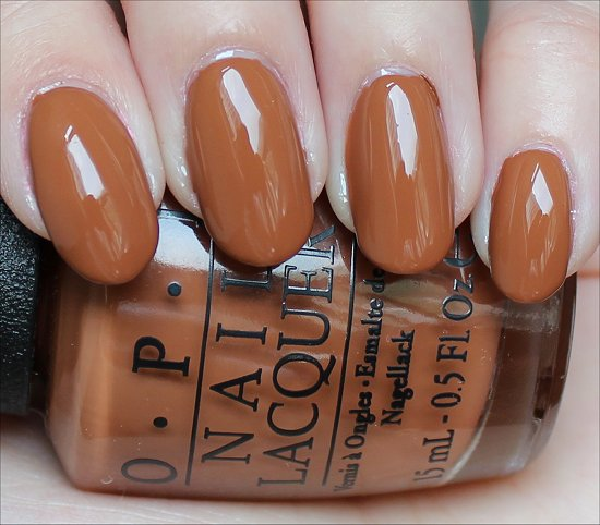 OPI A-Piers to Be Tan Review & Swatches