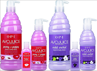 OPI Avojuice Peony & Poppy Violet Orchid Hand & Body Lotion