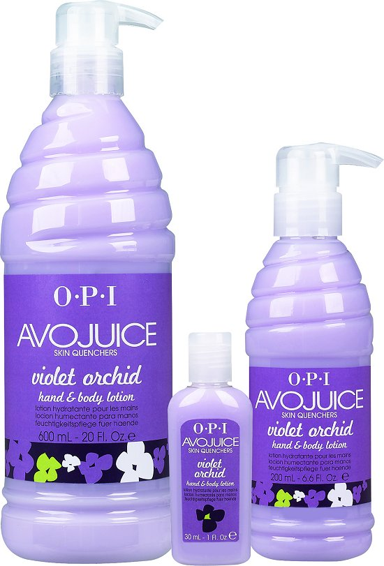 OPI Avojuice Violet Orchid Hand & Body Lotion