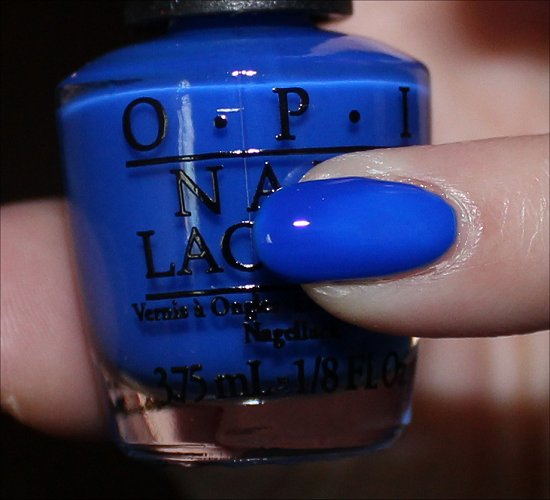 OPI Blue It Out of Proportion Swatch & Review Neon Revolution
