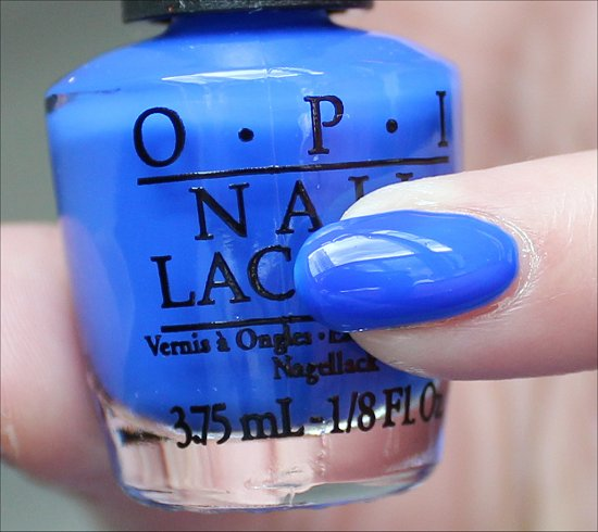 OPI Blue It Out of Proportion Swatch & Review