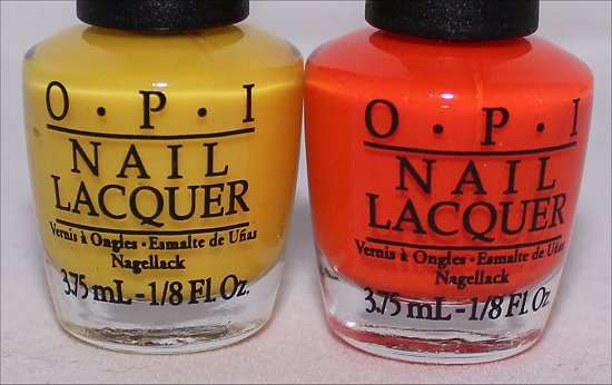 OPI Don't Say It - Yellow It & OPI The Time Is Pow Neon Revolution Mini Set
