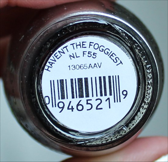 OPI Haven't the Foggiest San Francisco Collection
