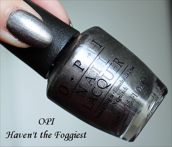OPI Haven't the Foggiest San Francisco