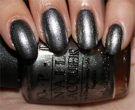OPI Haven't the Foggiest Swatch, Review & Pictures