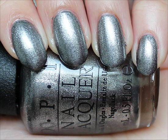 OPI Haven't the Foggiest Swatch & Review