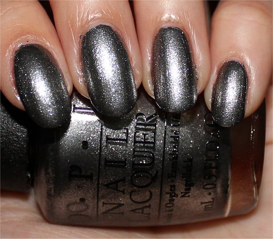 OPI Haven't the Foggiest Swatches & Photos