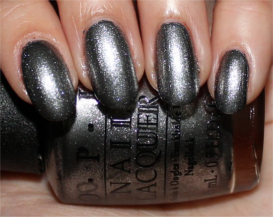 OPI Haven't the Foggiest Swatches, Review & Pictures