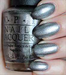 OPI Haven't the Foggiest Swatches & Review