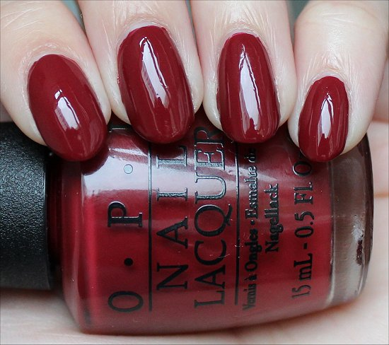 OPI Lost on Lombard Review & Swatches