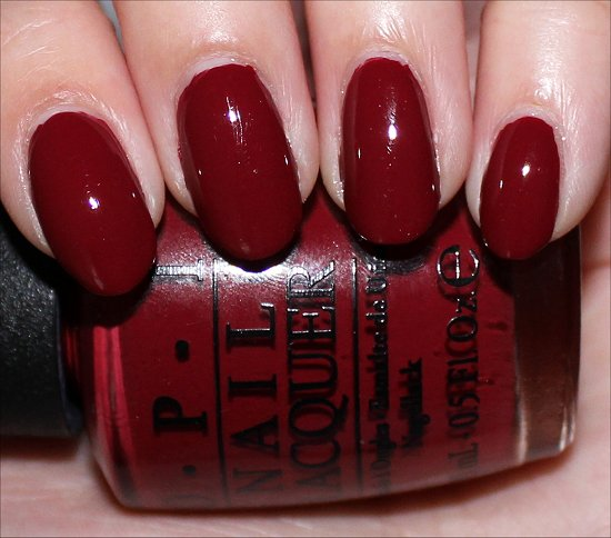 OPI Lost on Lombard San Francisco Collection Swatch