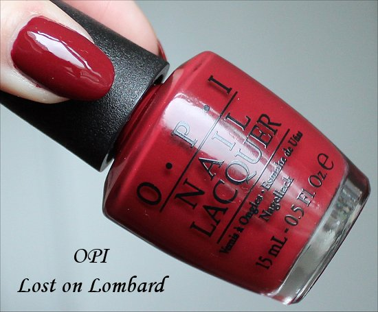 OPI Lost on Lombard San Francisco Collection Swatches & Review