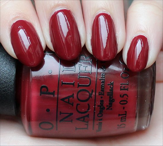 OPI Lost on Lombard Swatch & Review