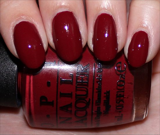 OPI Lost on Lombard Swatch San Francisco Collection Photos