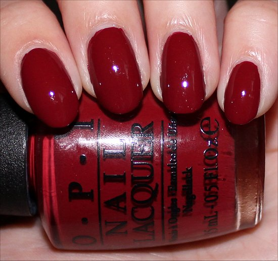 OPI Lost on Lombard Swatches & Pictures