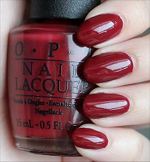 OPI Lost on Lombard Swatches & Review