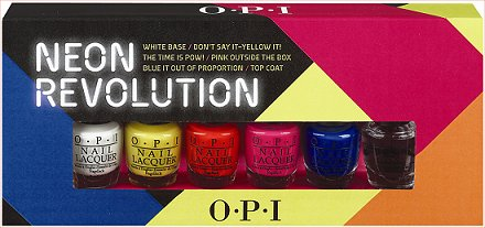OPI Neon Revolution Press Release & Promo Picture