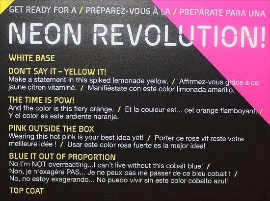 OPI Neon Revolution Review & Pictures