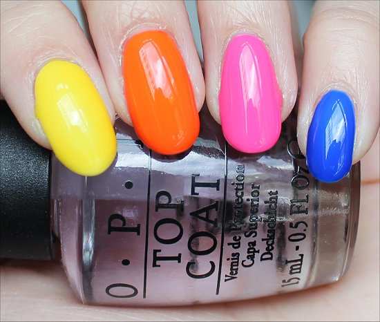 OPI Neon Revolution Review & Swatch