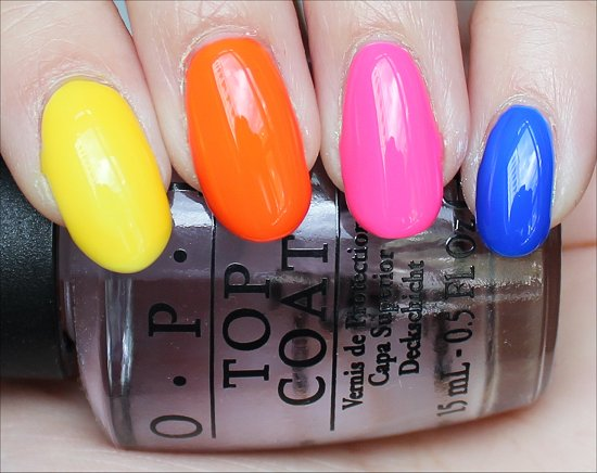 OPI Neon Revolution Review & Swatches