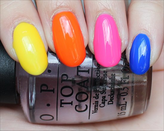 OPI Neon Revolution Swatch & Review