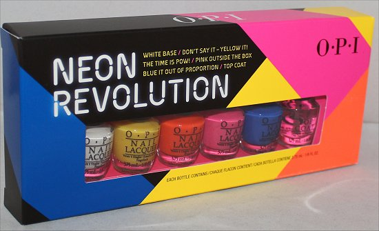 OPI Neon Revolution Swatches & Review