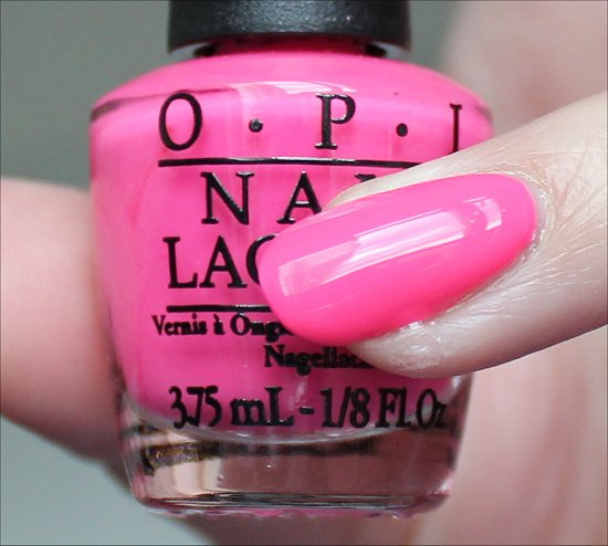 OPI Pink Outside the Box Swatch & Review