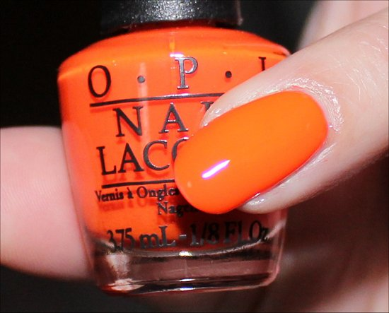 OPI The Time Is Pow Swatch & Review Neon Revolution