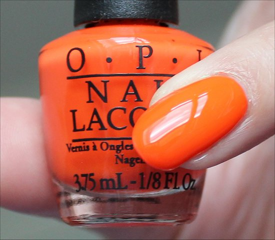 OPI The Time Is Pow Swatch & Review