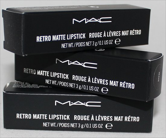 Riri Hearts MAC Lipsticks Haul & Pictures