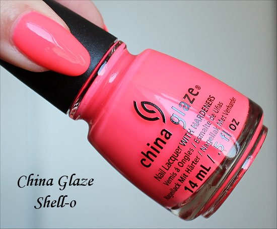 Shell-o by China Glaze Sunsational Collection