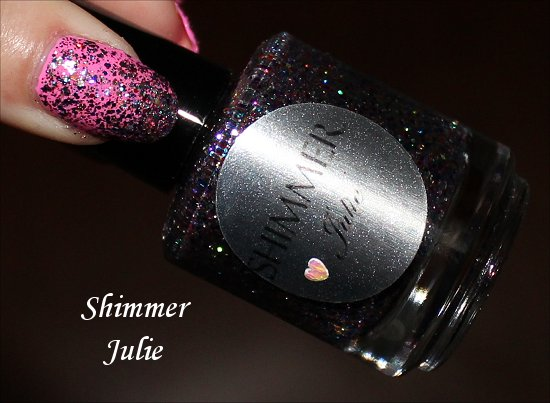 Shimmer Julie Swatches, Review & Pics