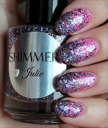 Shimmer Julie Swatches & Review