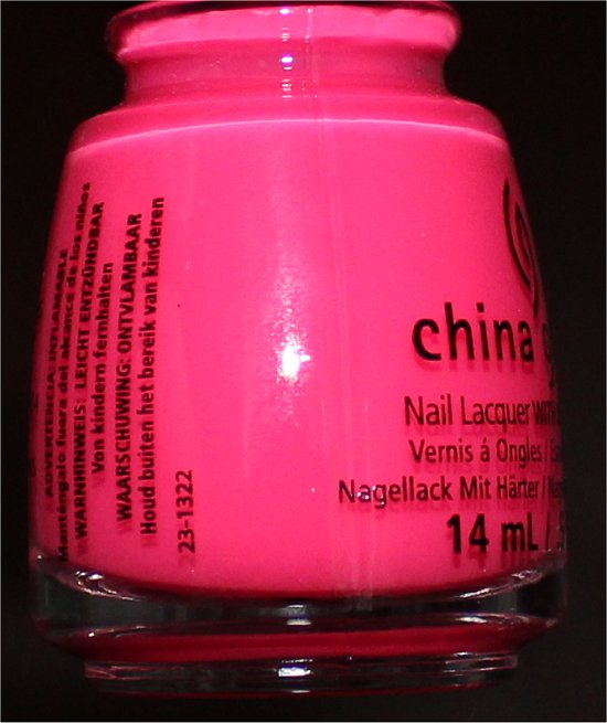 Sunsational China Glaze Heat Index Pictures