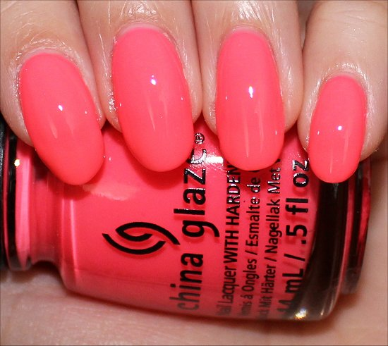 Sunsational China Glaze Shell-o Swatch