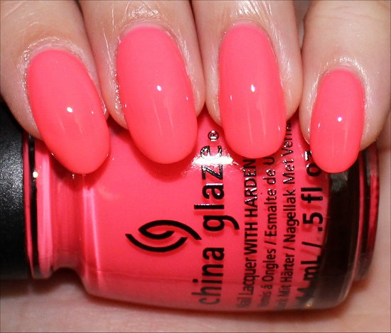 Sunsational Collection China Glaze Shell-o Swatch