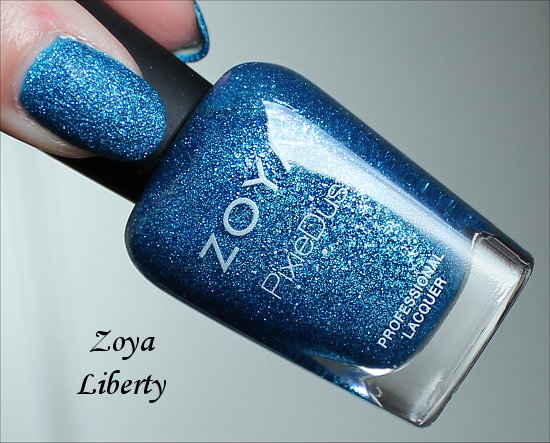 Zoya Liberty PixieDust Swatch, Review & Pictures