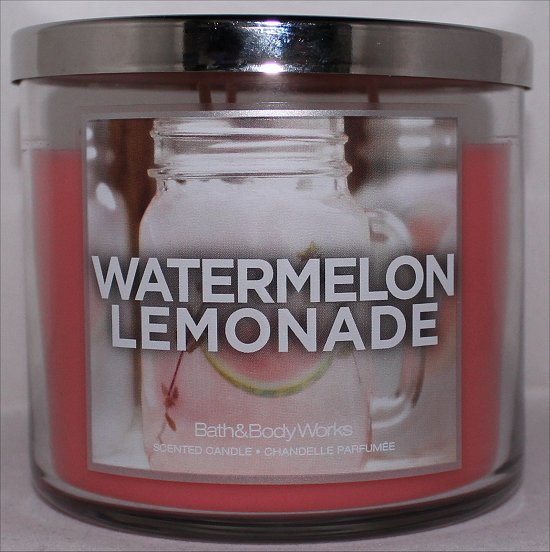 Bath & Body Works Watermelon Lemonade Candle Review & Pictures