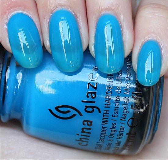 China Glaze Isle See You Later Review & Swatch