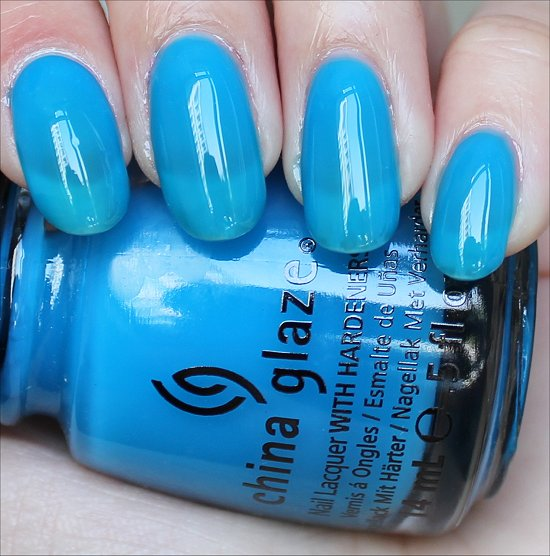 China Glaze Isle See You Later Review & Swatches