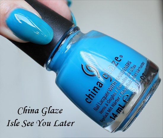 China Glaze Isle See You Later Sunsational Collection