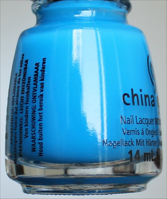 China Glaze Isle See You Later Sunsational