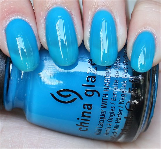 China Glaze Isle See You Later Swatch & Review