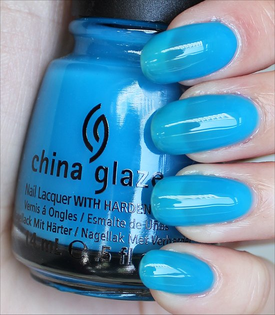 China Glaze Isle See You Later Swatches & Review